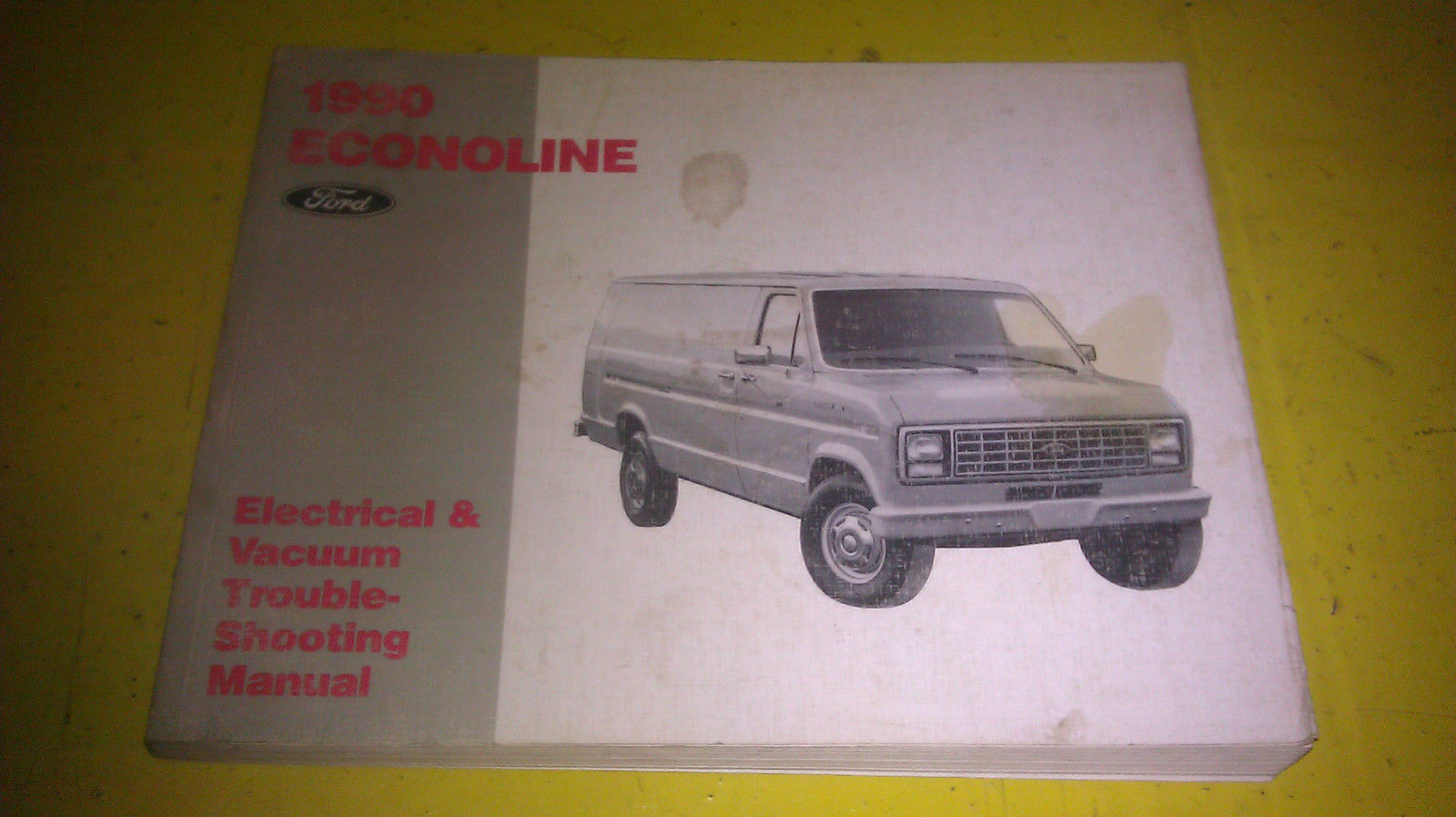 ford econoline manual