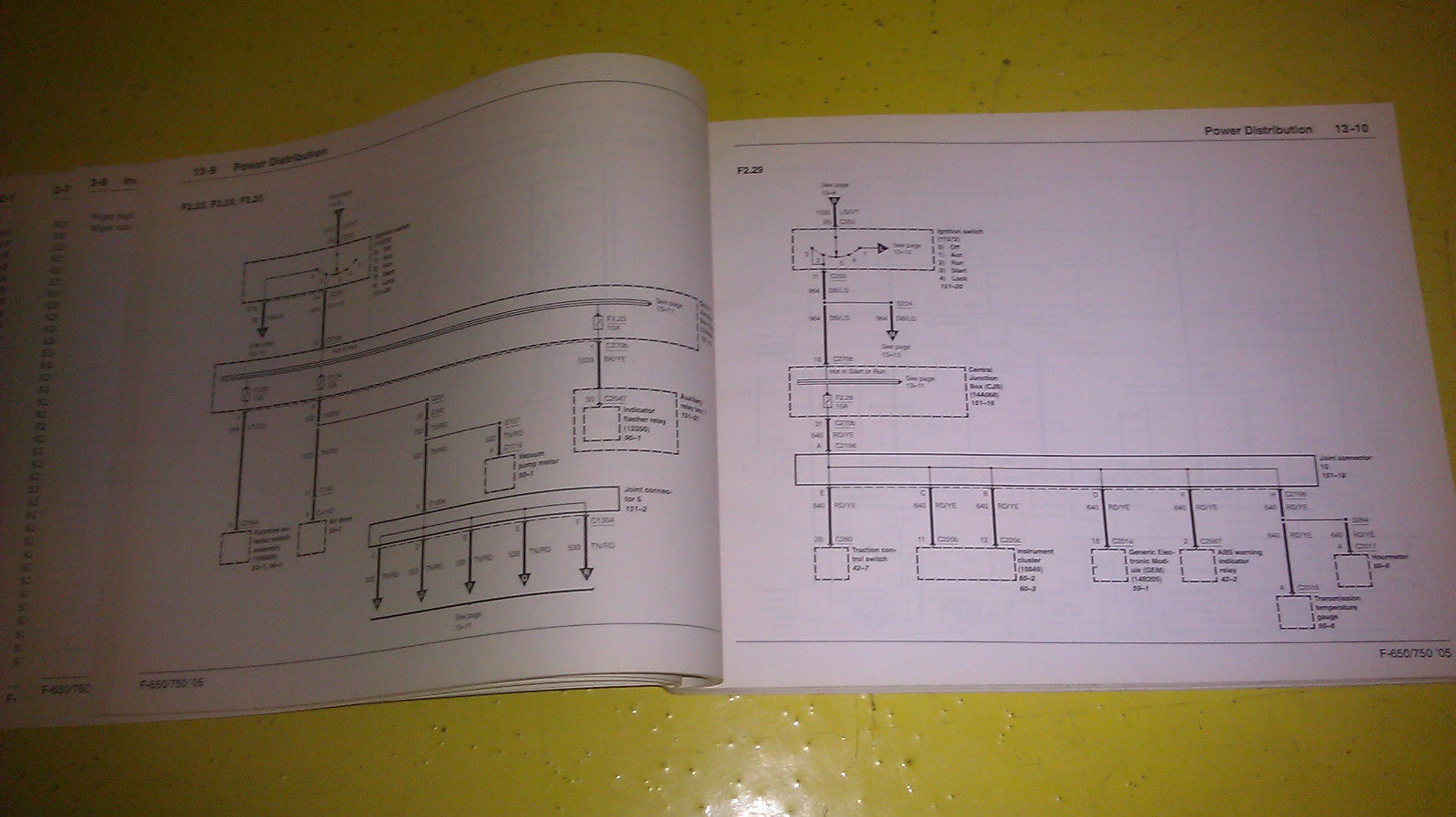 2005 F750 Wiring Diagram Will Be A Thing F650 Fuse Genuine Ford F 650 750 Super Duty 2006 Box