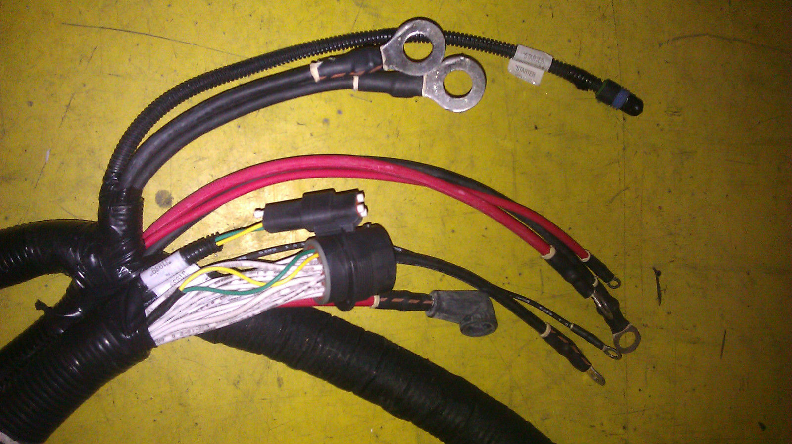 genuine mack truck wiring harness 41mr5886m other