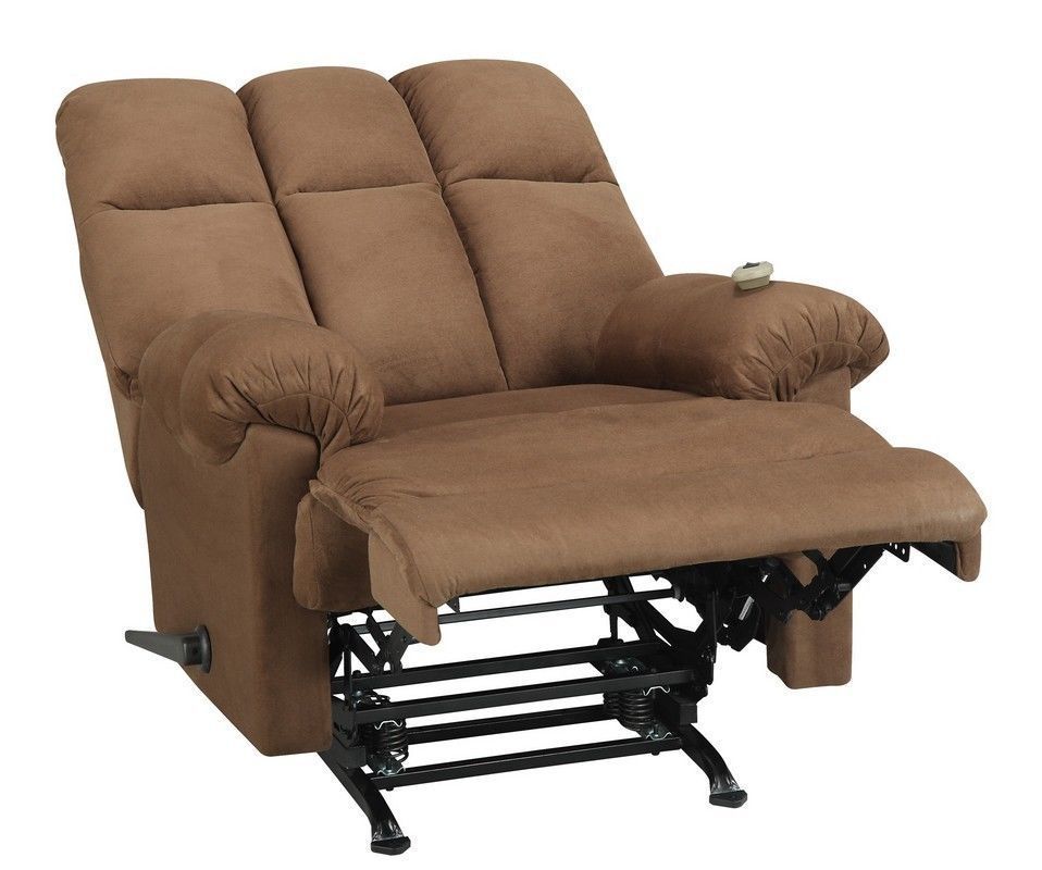 Padded Massage Chair Reclining Sofa Luxury Glider Recliner