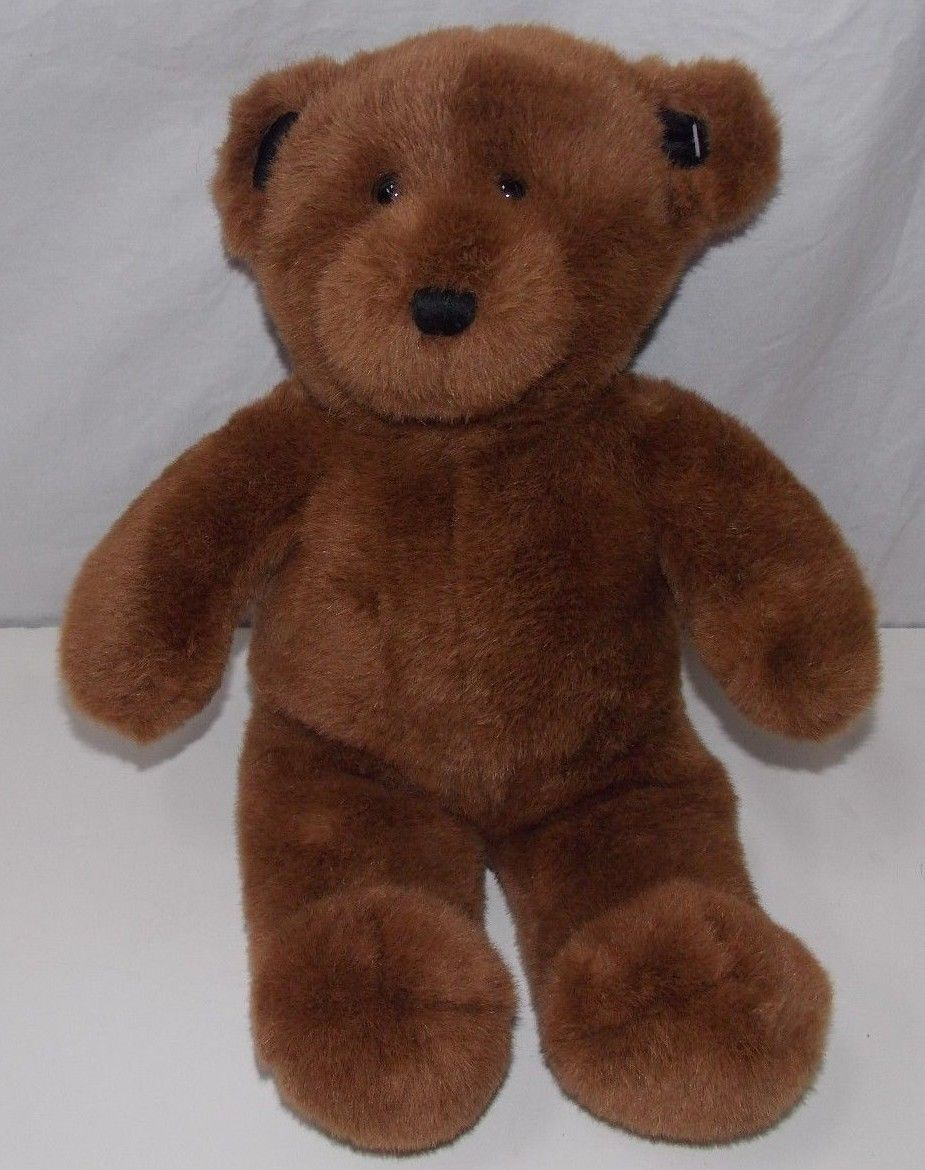Build A Bear Workshop Chocolate Brown Teddy Bear Black ...