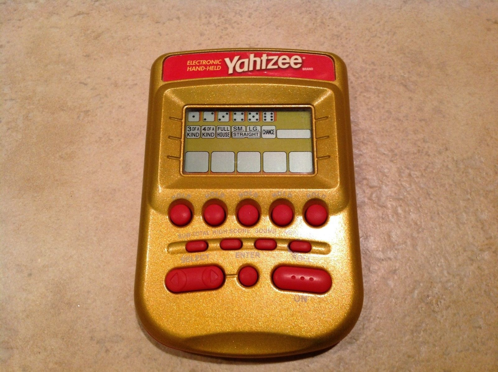 pocket yahtzee game