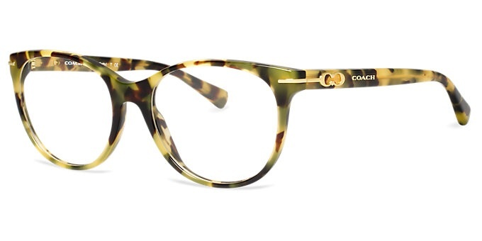 New Authentic Coach Eyeglasses HC6056 5093 BETTY Tortoise ...