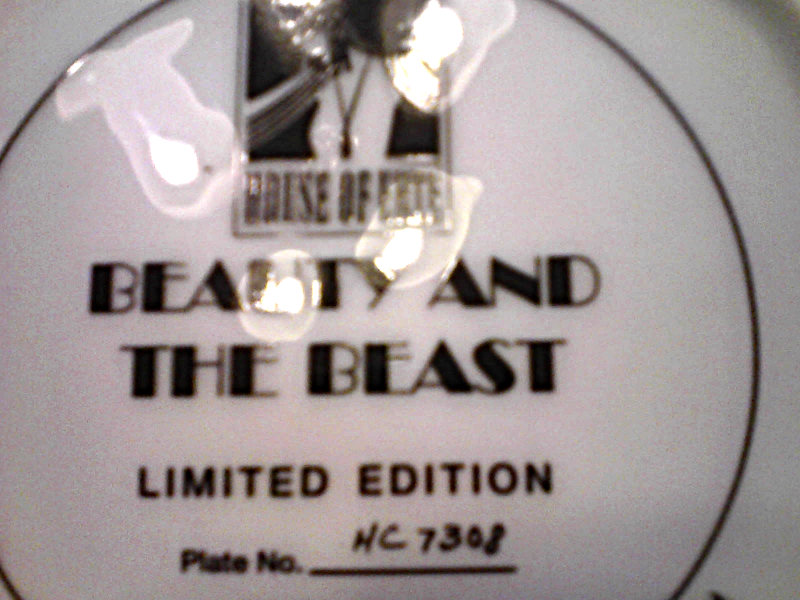 House Of Erte Beauty And The Beast Limited Edition The