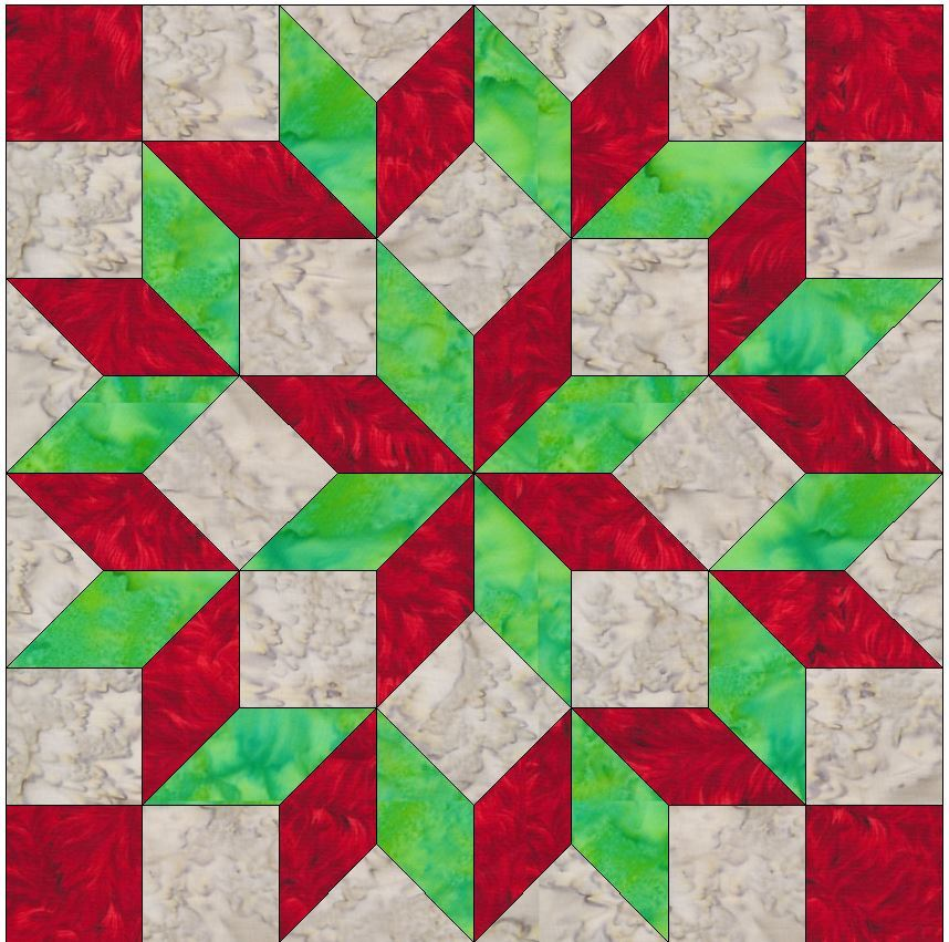 Foundation Pieced Carpenter s Wheel Paper Piece Quilting Block Pattern in PDF - Quilt Patterns