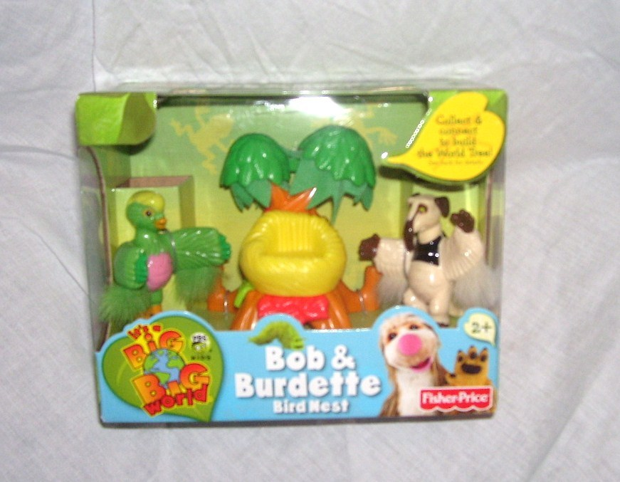 fisher price it s a big big world bob burdette bird nest playset new 2007 other