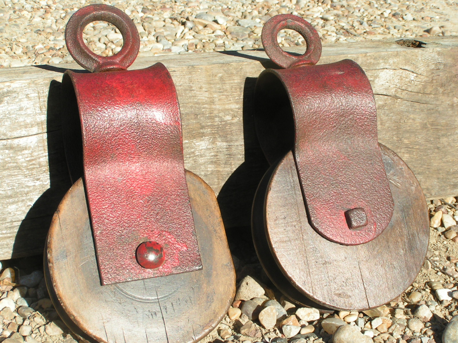 Pulleys And Blocks For Sale : Used wood block tackle for sale ads in us