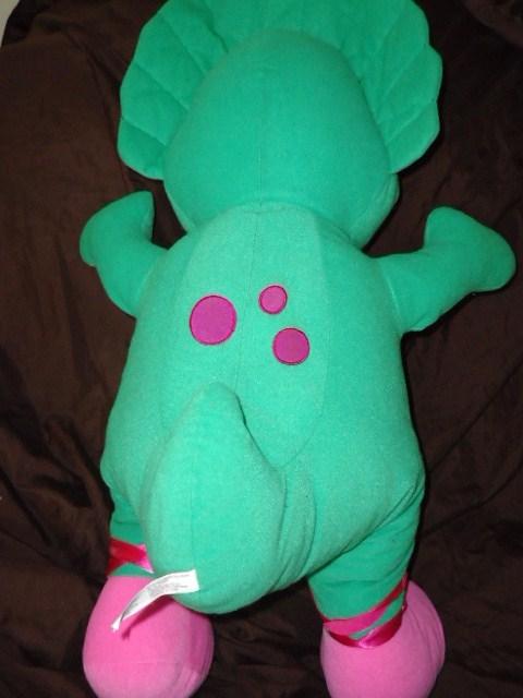 Barney The Dinosaur Jumbo Baby Bop Large Plush Pillow