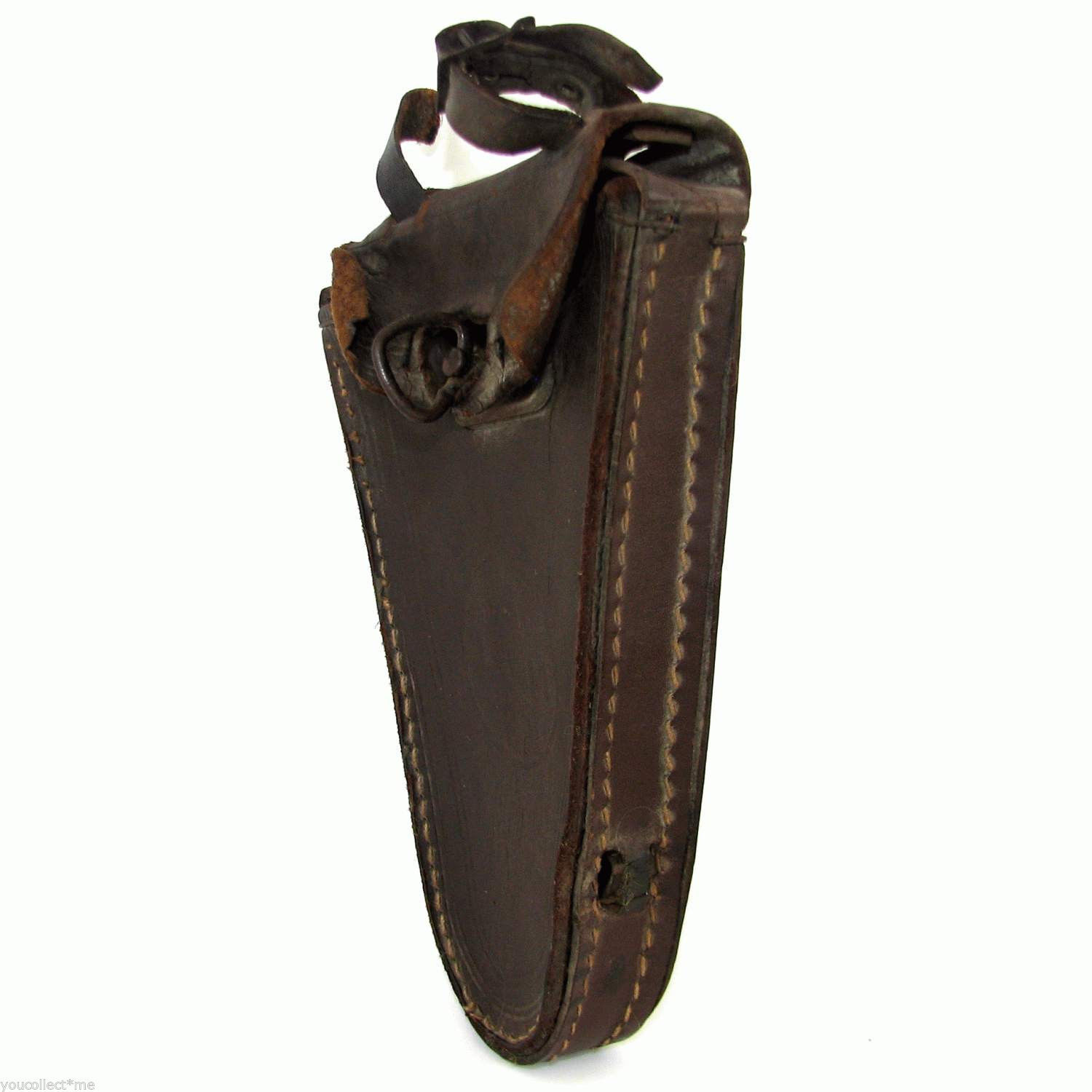 Bicycle Tool Bag : Antique vintage bicycle tool bag pouch case brown real
