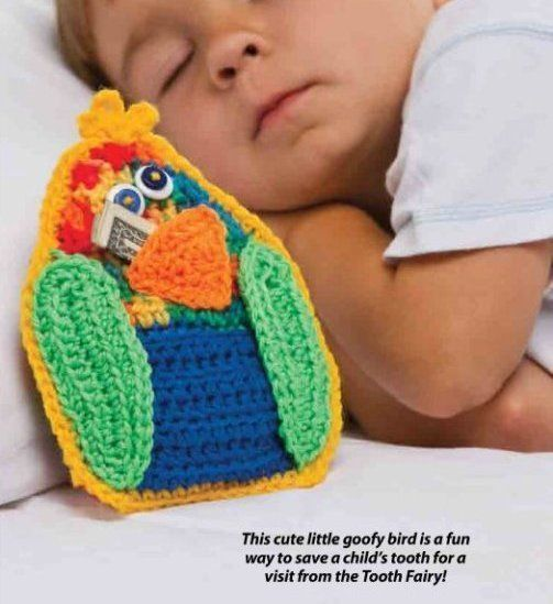 Free Crochet Pattern Tooth Fairy Pillow : __57