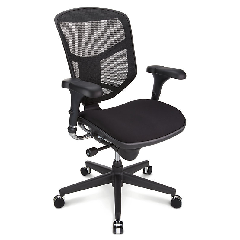 Realspace pro quantum 9000 ergonomic mid back mesh fabric for Sillas empresariales