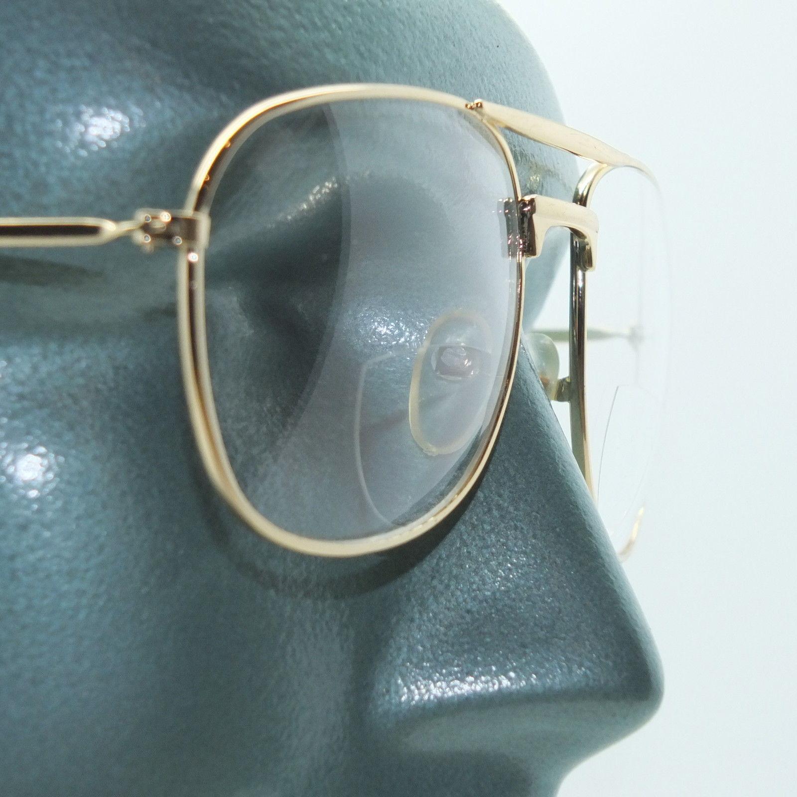 Aviator Gold Metal Large Frame Bifocal +1.50 Reading ...