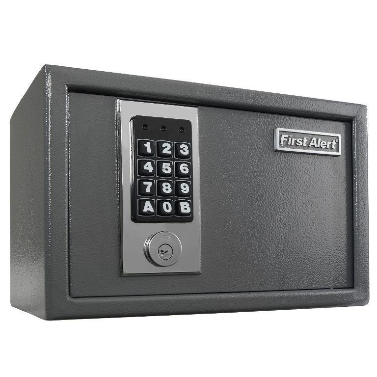 First Alert Safe Fireproof Digital Key Security Lock