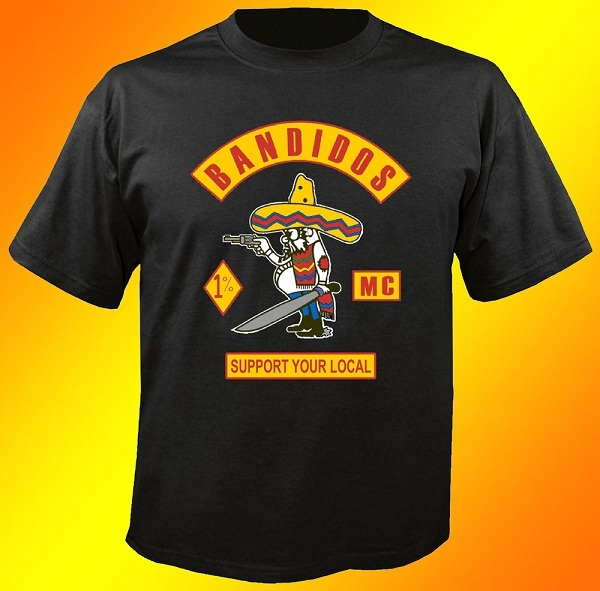 Used bandidos for sale 47 ads in us for Local custom t shirts