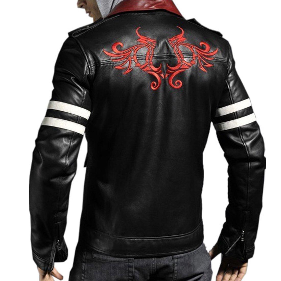Stylish leather jackets men