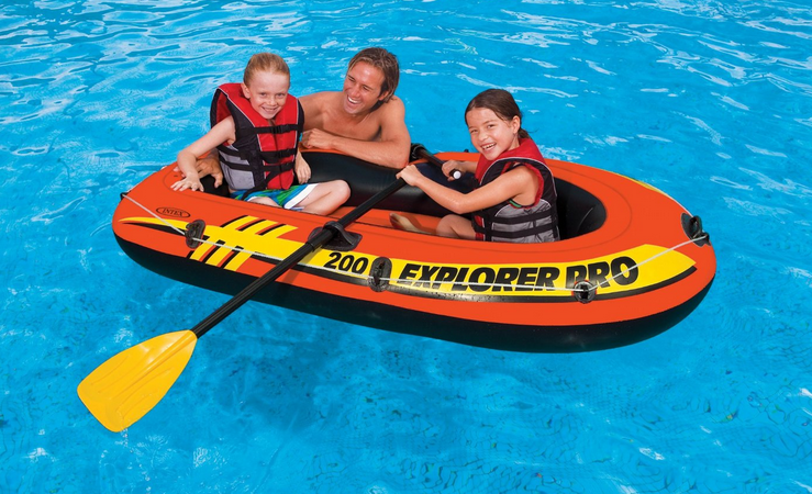 Image Gallery Inflatable Pool Boats