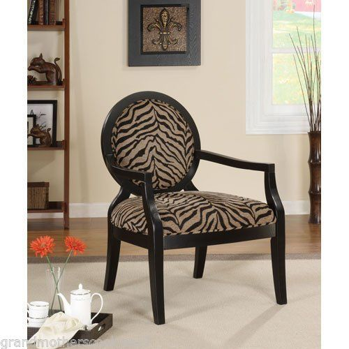 print accent chair modern wood unique living room wood round arms