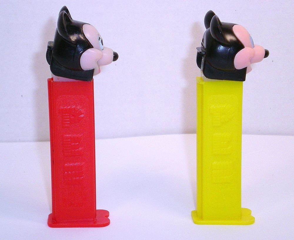 Image 2 of Mickey Mouse C Pez faceplate European 1989 release discontinued