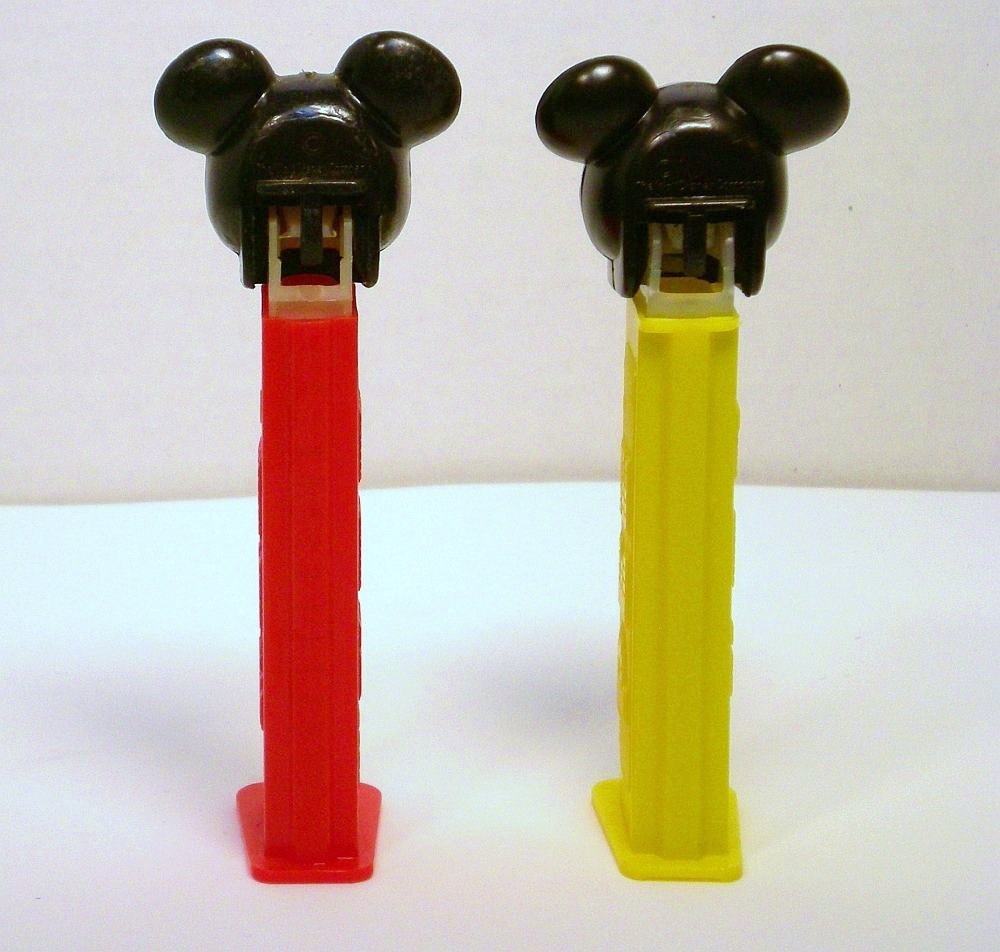 Image 4 of Mickey Mouse C Pez faceplate European 1989 release discontinued