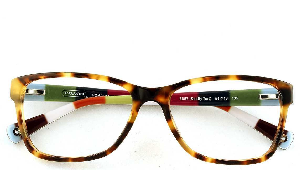 Coach Eyeglass Frames Hc6013 : New Authentic Coach Eyeglasses HC6013 5238 Spotty Tortoise ...