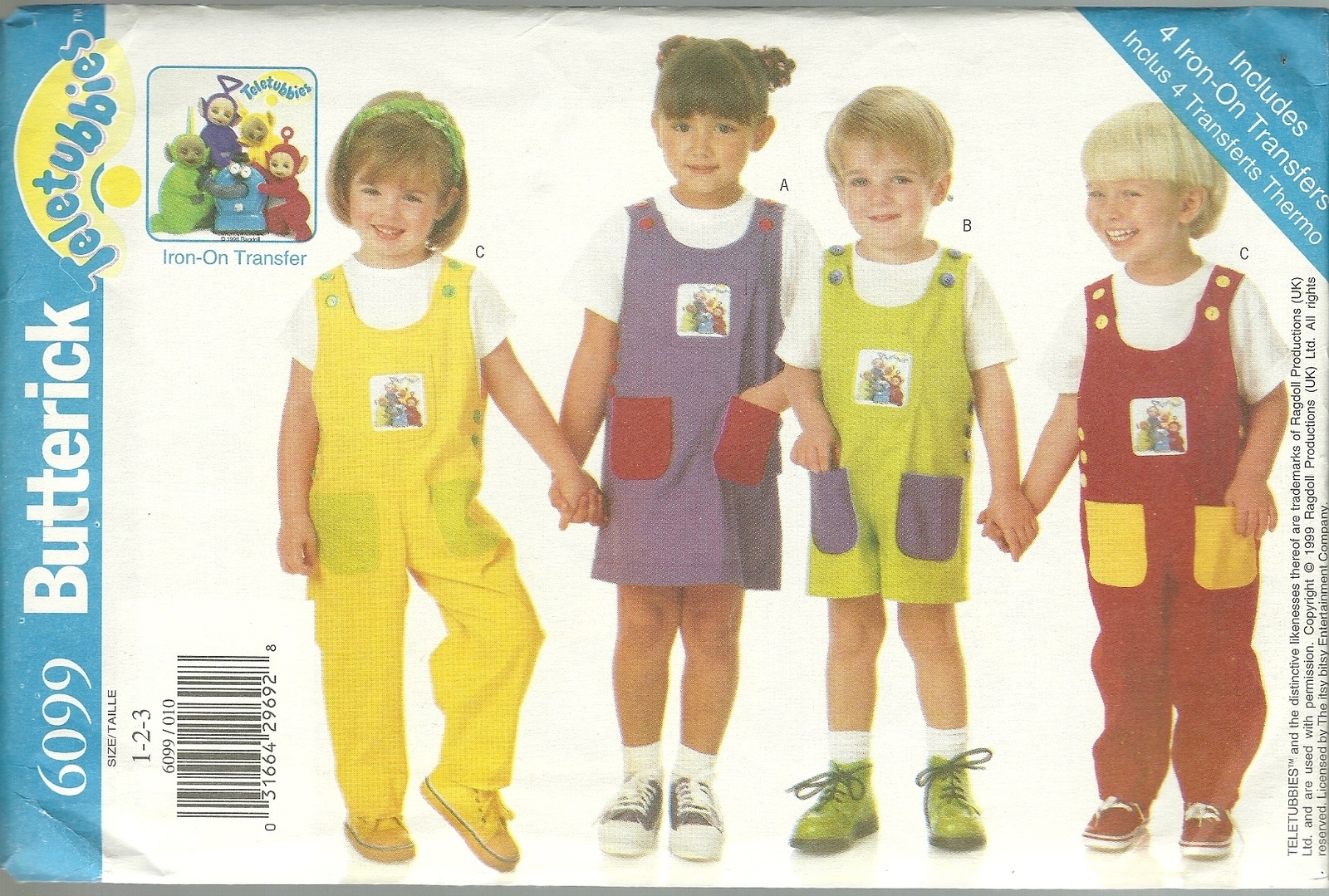 Childrens jumpsuit sewing pattern