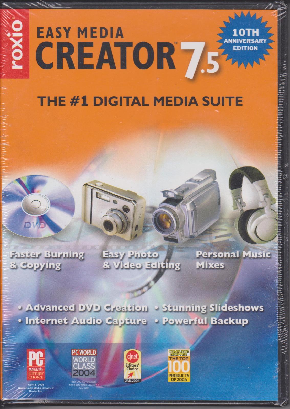 Roxio Easy Media Creator 7 Free Download Crack