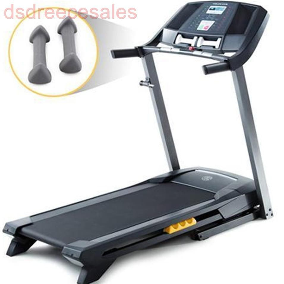 Gold's Gym Trainer 410 Treadmill Workout Equipment Weight Loss Muscle ...