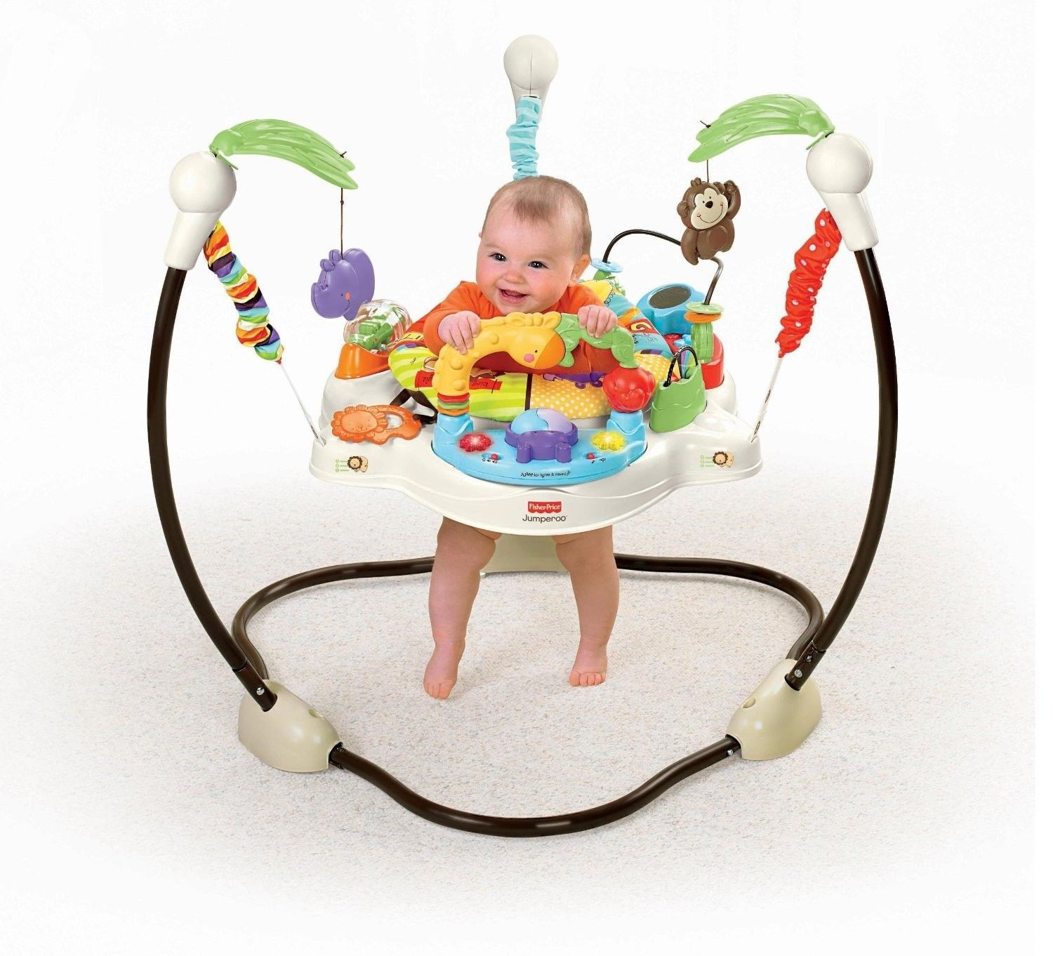New Baby Luv Love You U Zoo Jumperoo Baby Bouncer Jumper