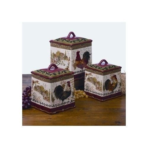 storage bins kitchen certified international tuscan
