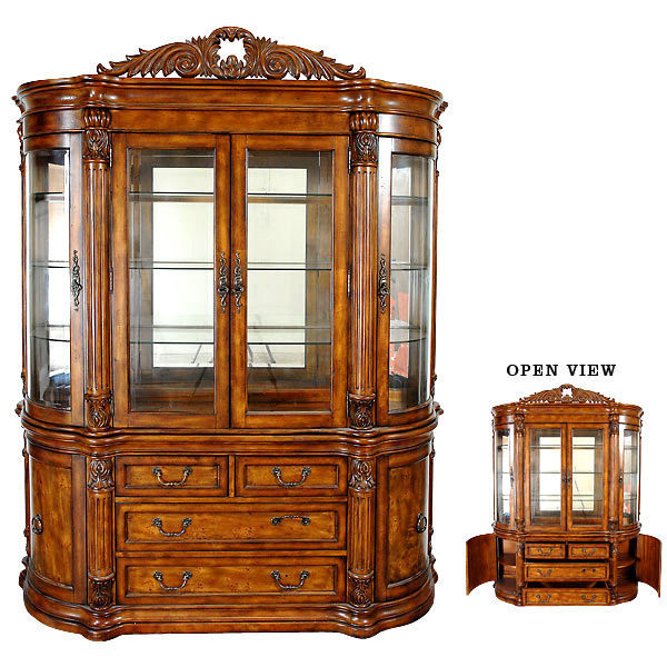 Used China Cabinet Wood For Sale