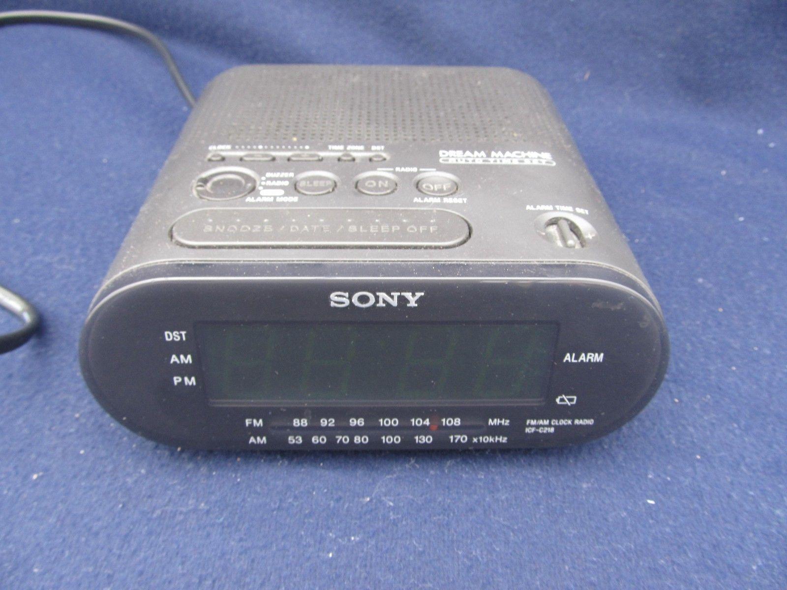 sony machine icf c218