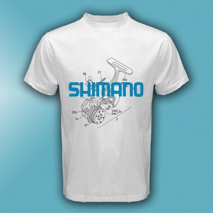 Reel baitcaster daiwa shimano akuma abu penn fishing white for Shimano fishing shirts