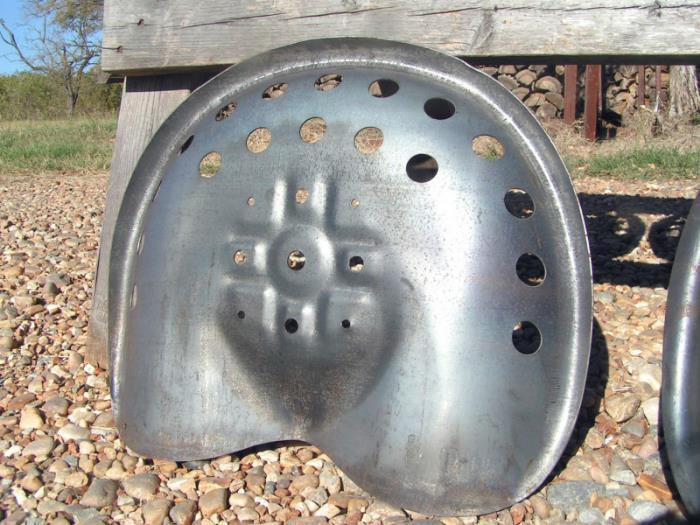 Ford Tractor Seat Metal Pan : Three steel tractor metal farm machinery seats new old pan