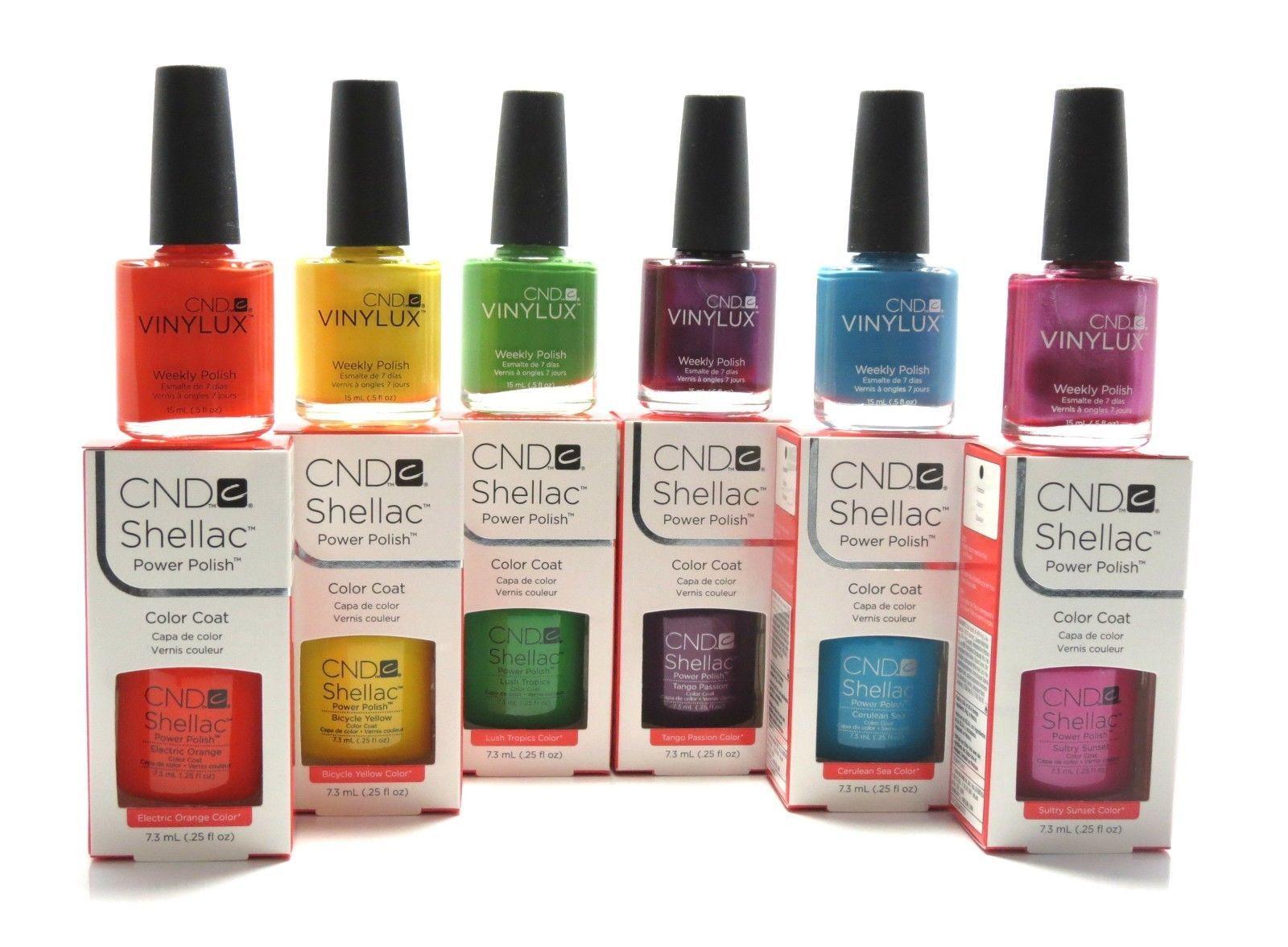 CND Shellac Colors 2014