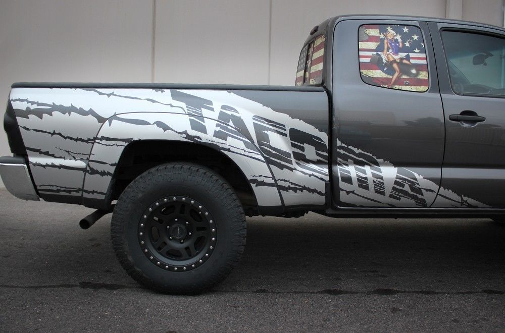 Toyota Tacoma Trd Fender Graphics Vinyl And 50 Similar Items