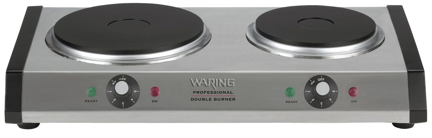 double hot plate apartment portable burner stove camping