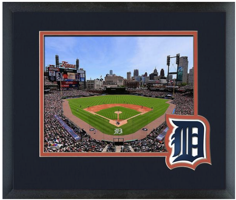 Comerica Park Detroit Michigan: Comerica Park 2014 Home Of The Detroit Tigers (Day Or