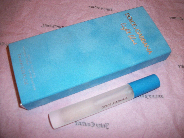 Dolce Gabbana Light Blue Perfume Edt Mini Spray Handbag