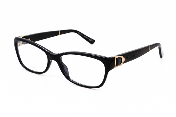 Gucci Eyeglass Frame Parts : New Authentic Gucci GG 3639 075Q Eyeglass Frame Black 53mm ...