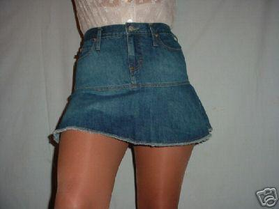 ... Ladies Shop » Sexy Jalate Short Cheeky Jeans Micro Mini Skirt NWT 5/6