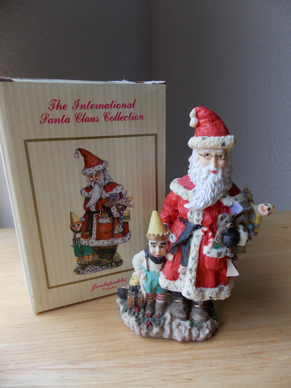 "International santa claus collection ""joulupukki"