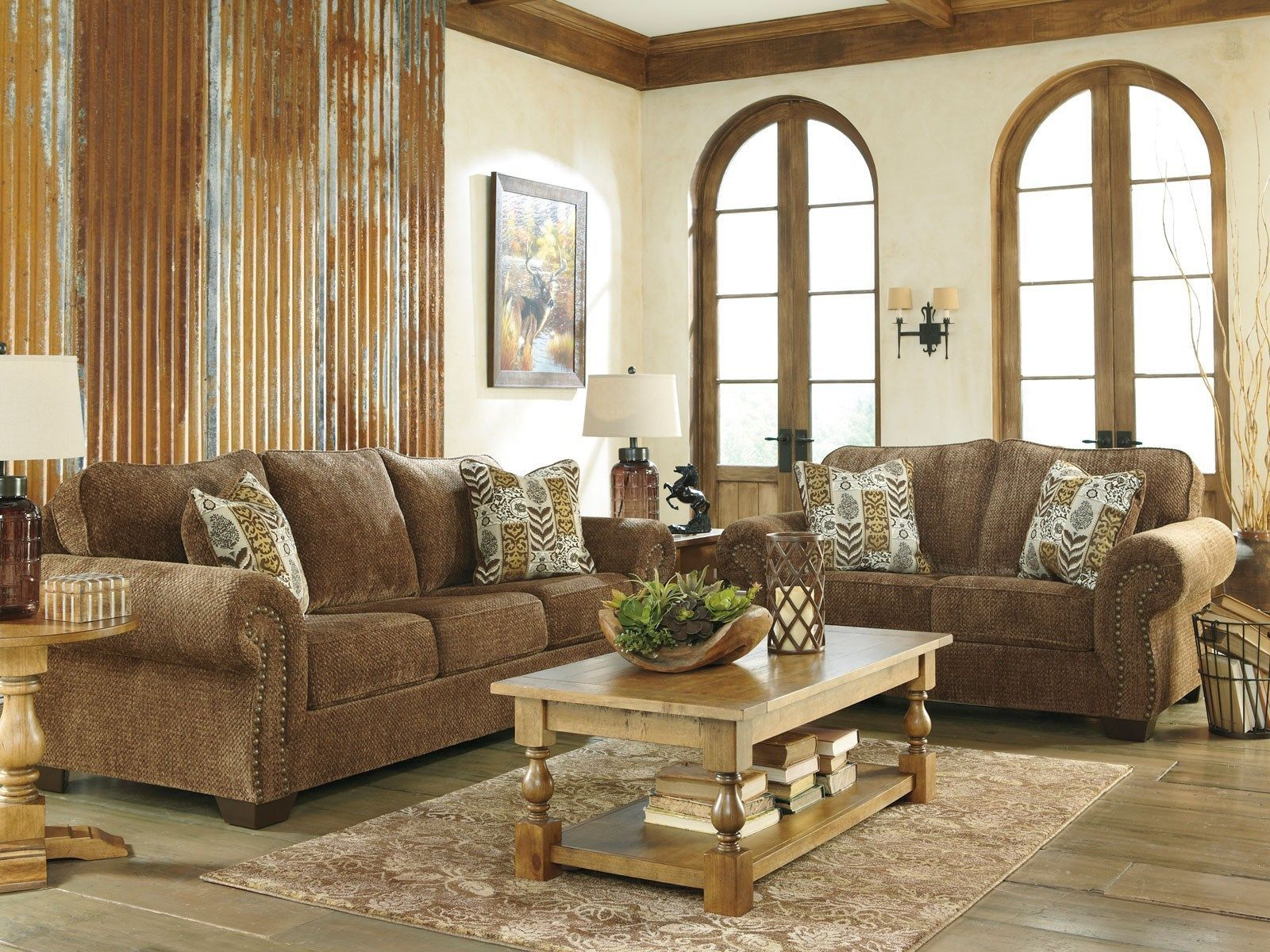old world living room sets