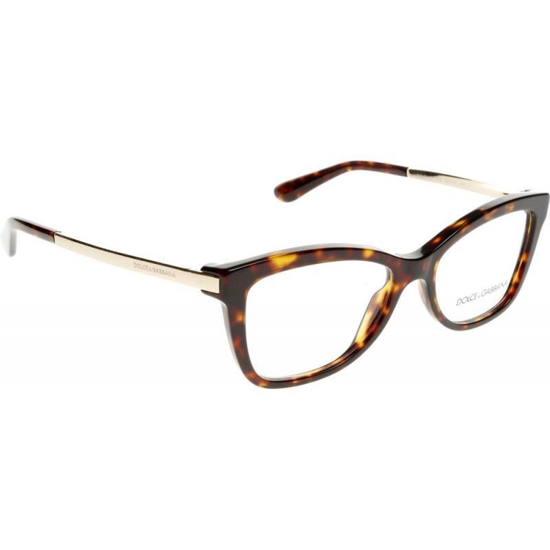 New Dolce Gabbana Eyeglass Frames : NEW AUTHENTIC DOLCE & GABBANA DG 3218 502 Tortoise Brown ...