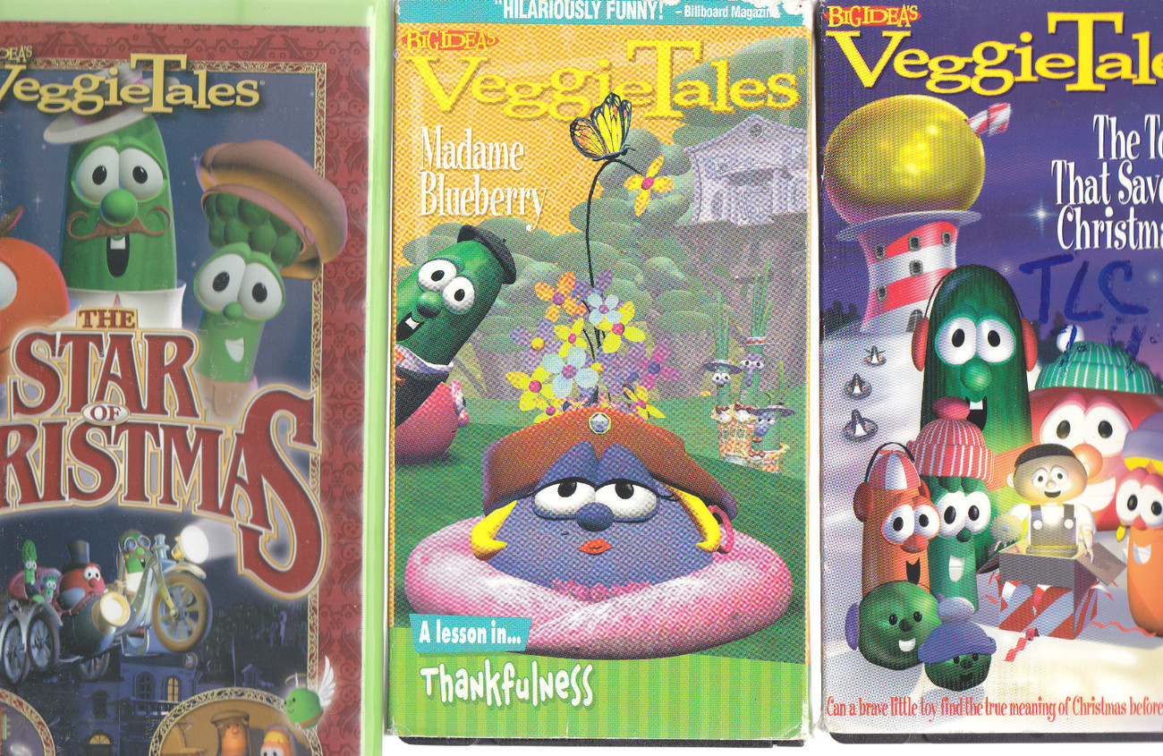 Veggietales madame blueberry a lesson in thankfulness 3d view pictures