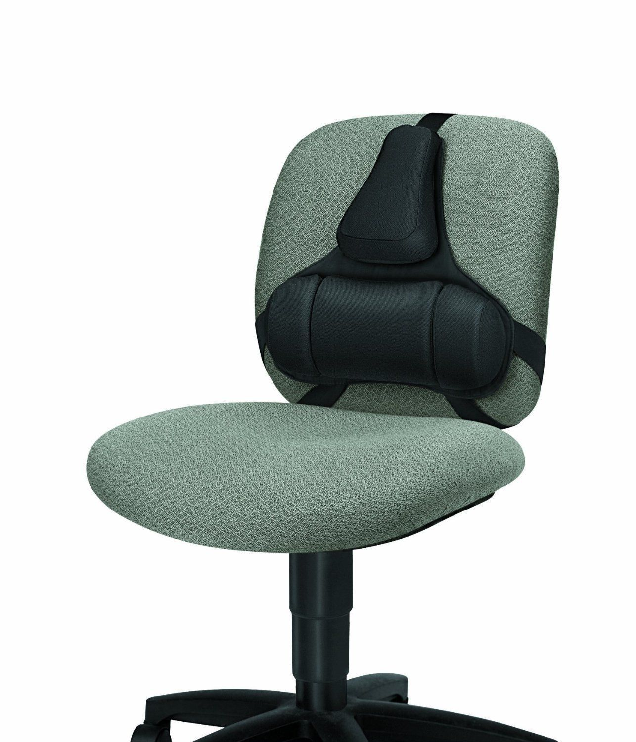 strap on chair back support desk ergonomic lumbar office seat comfort pad memory chairs. Black Bedroom Furniture Sets. Home Design Ideas