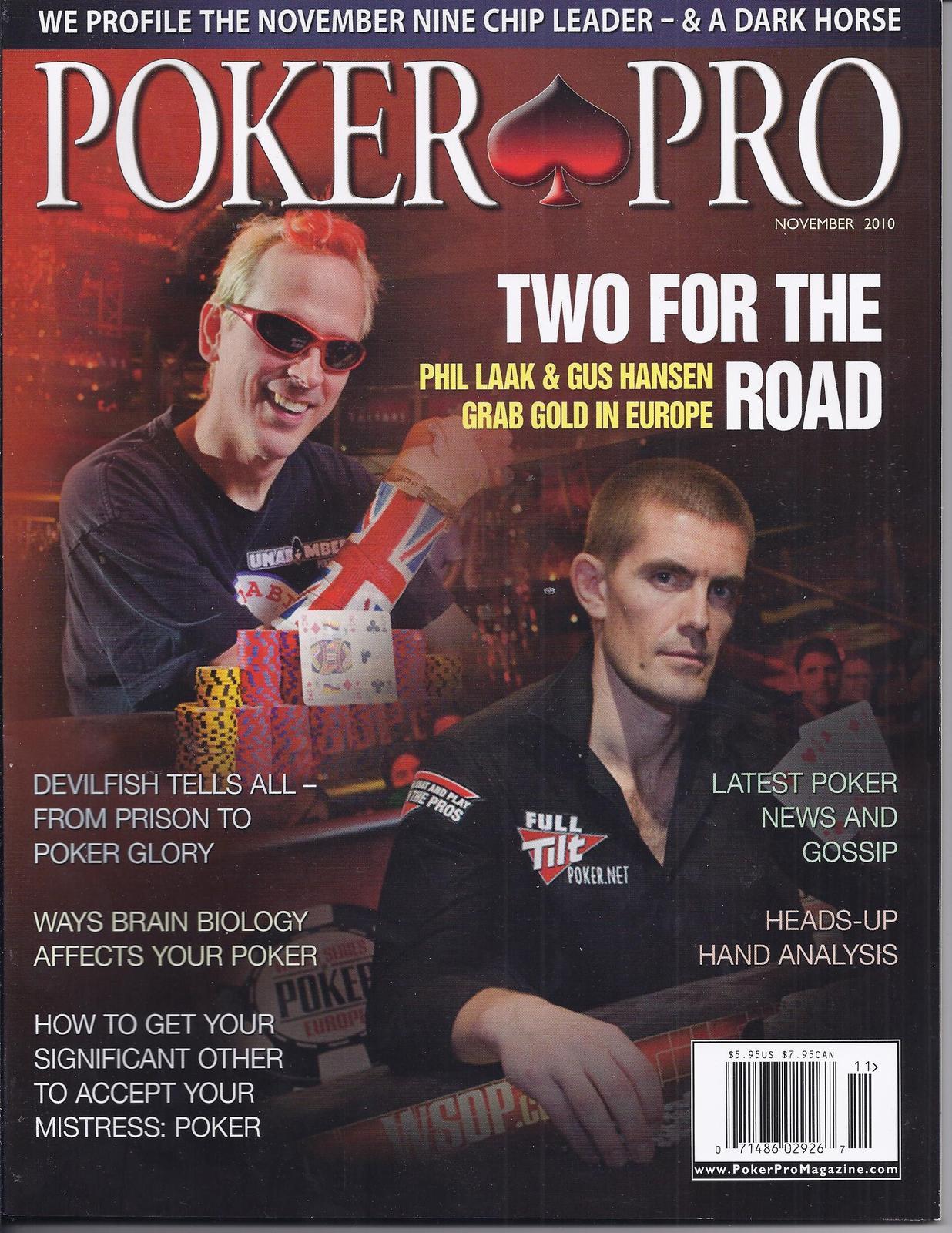 Online poker pro magazine slot cars cincinnati oh