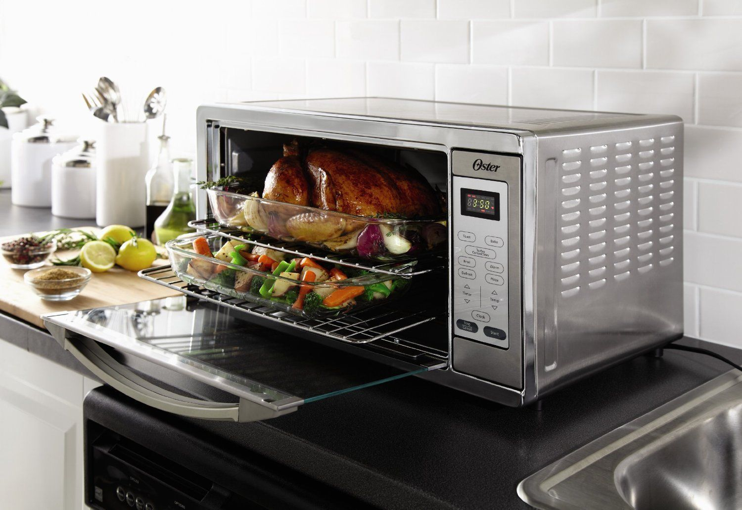 Countertop Microwave Convection Oven Combo : Convection Countertop Stove Microwave Conventional Pizza Turbo Oven ...