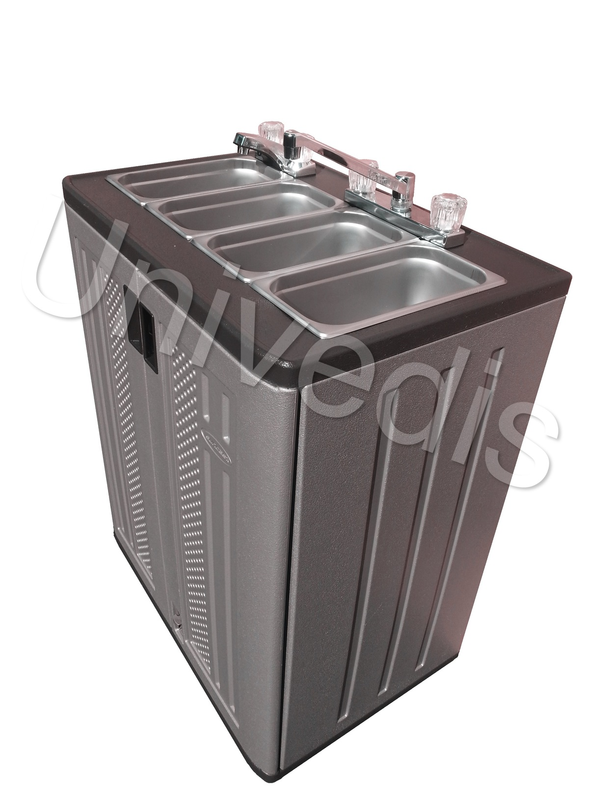 Portable Sink Mobile Concession compartment hot water ... Sink With Water