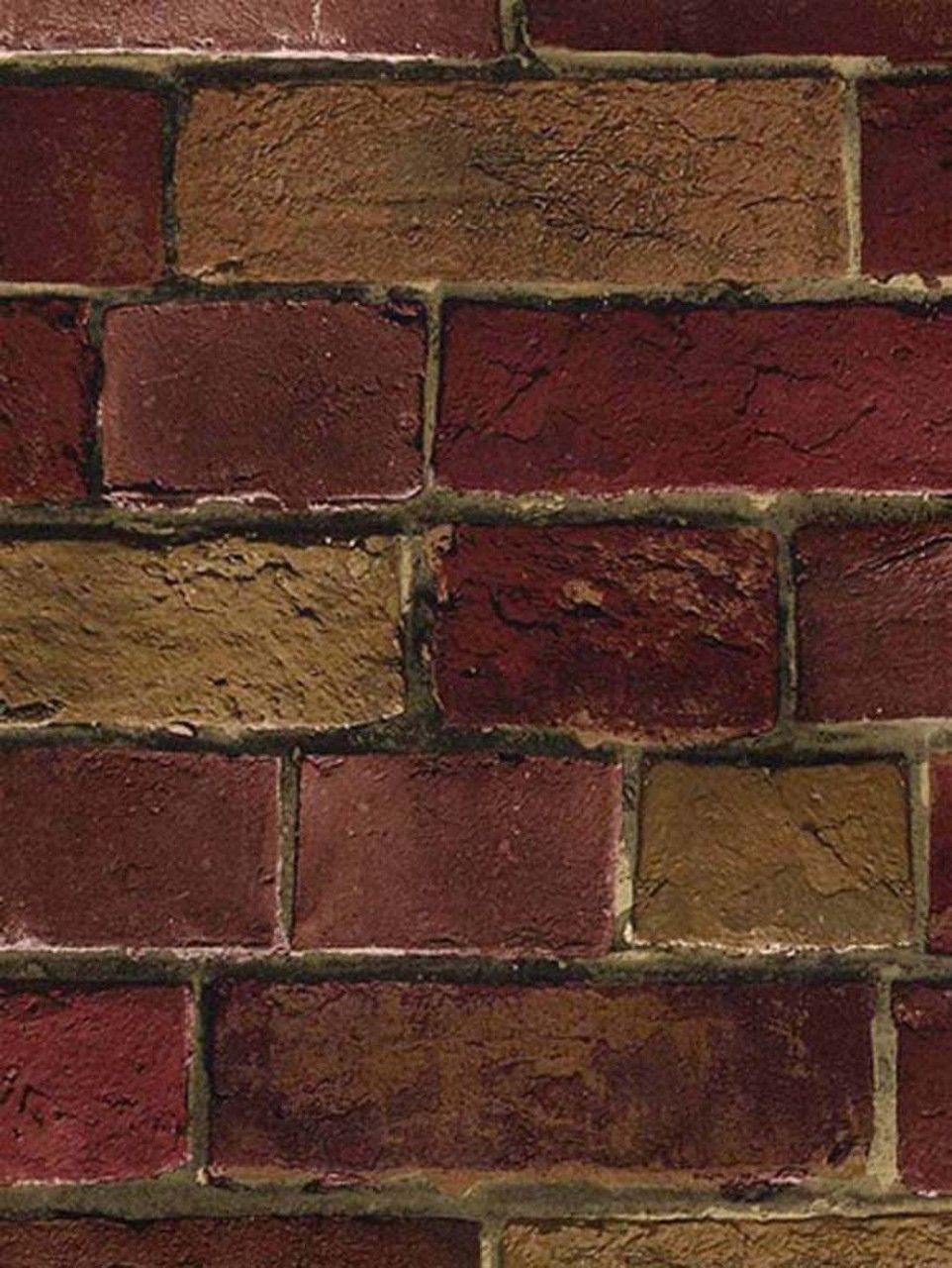 Used faux brick for sale 92 ads in us for Brick wallpaper sale