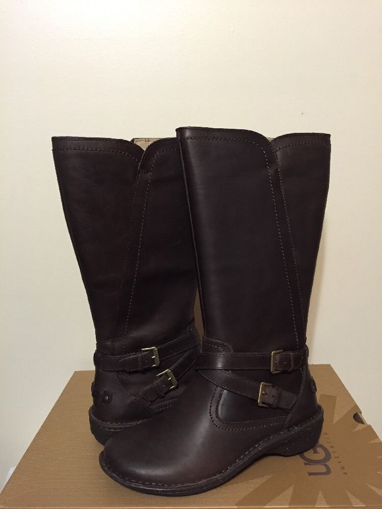 Fantastic  I4924 Womens English Riding Boots Calf Leather Black And Brown  EBay